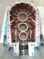 pump casing cement