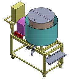 ออกแบบเครื่องจักรอุตสาหกรรมอาหาร